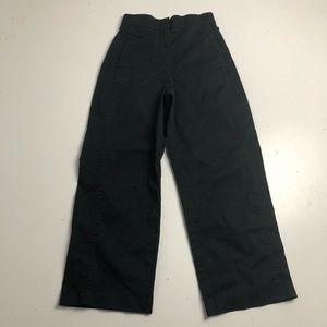 The Group Babaton Black Hi Rise Pants Size 00